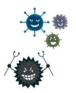ウイルス、風邪